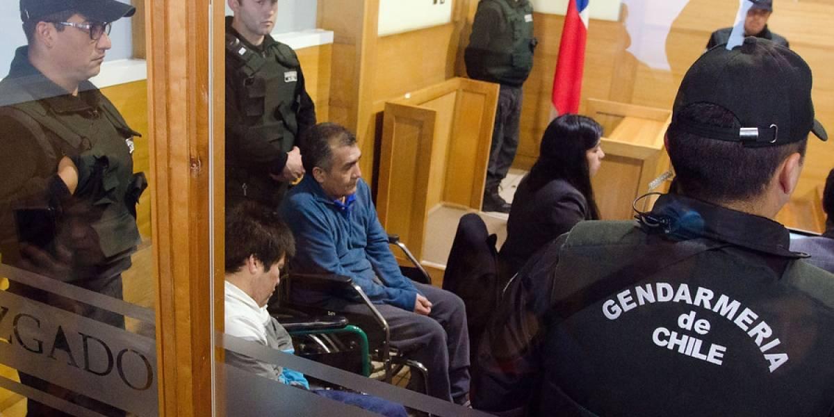 Preparación del juicio oral: en silla de ruedas llegaron comuneros que se mantienen en huelga de hambre