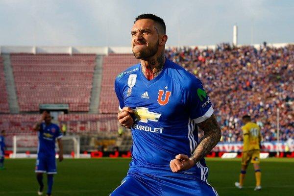 Mauricio Pinilla ya lleva cinco goles en el Transición / imagen: Agencia UNO