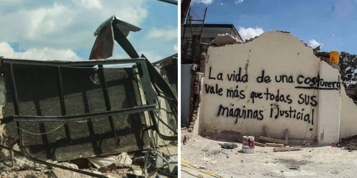 La historia se repite: las costureras vuelven a ser las víctimas del terremoto en México