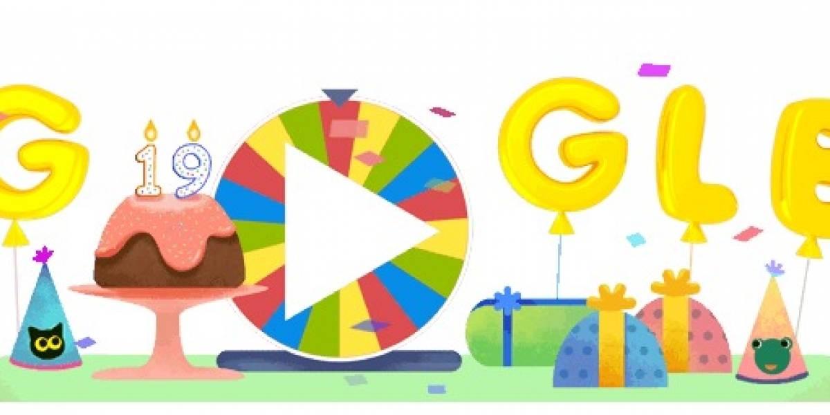 ¿Ya jugaste con la ruleta de Google?