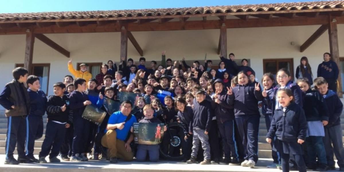 """Buen """"hablamiento"""": Colegio del """"Zafrada"""" obtiene máximo puntaje en Simce de Escritura 2016"""