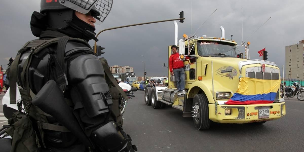 Indígenas inician despeje de vía Panamericana