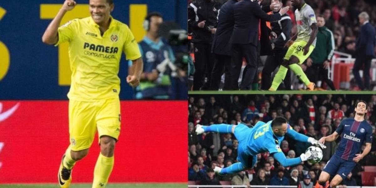 Los colombianos, figuras en la fecha de Europa League