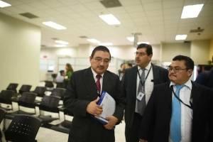 Representantes de Contraloría General de Cuentas