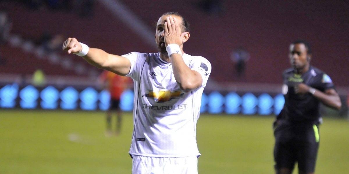 La razón por la que Hernán Barcos dejaría Liga de Quito