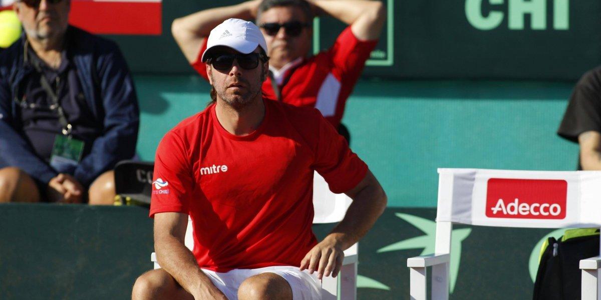 La crisis en el tenis chileno no lo mueve: Massú seguirá como capitán de Copa Davis