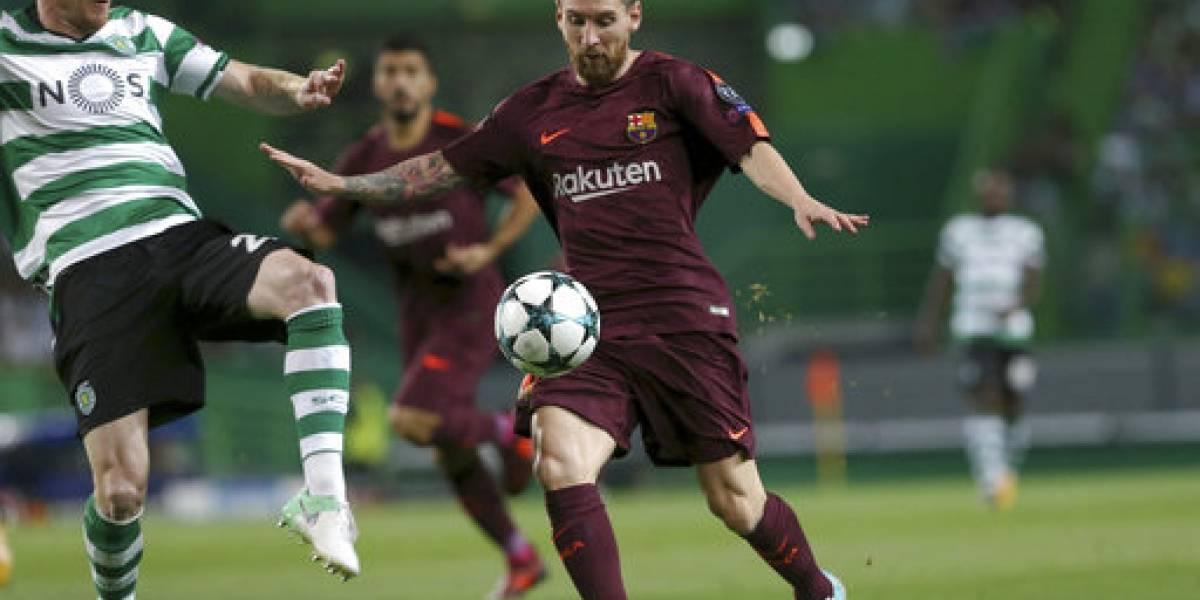 El Barcelona no defrauday vence al Sporting en Portugal