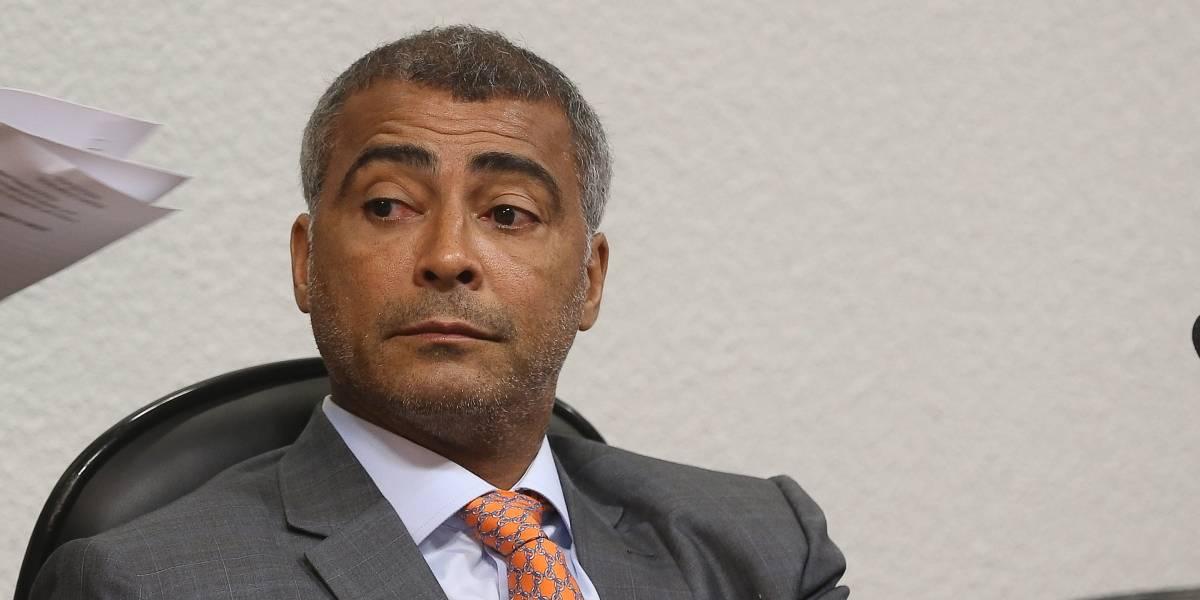 Romário admite candidatura a presidente da CBF após suspensão de Del Nero
