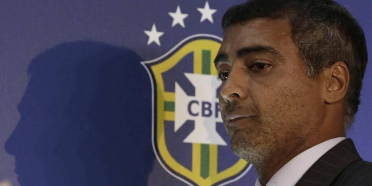 Romário pierde recurso contra Dunga por daños morales
