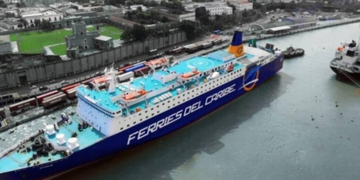 Ferries del Caribe reanuda servicio de transporte de pasajeros