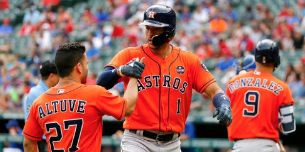 Carlos Correa dispara dos jonrones en victoria de los Astros