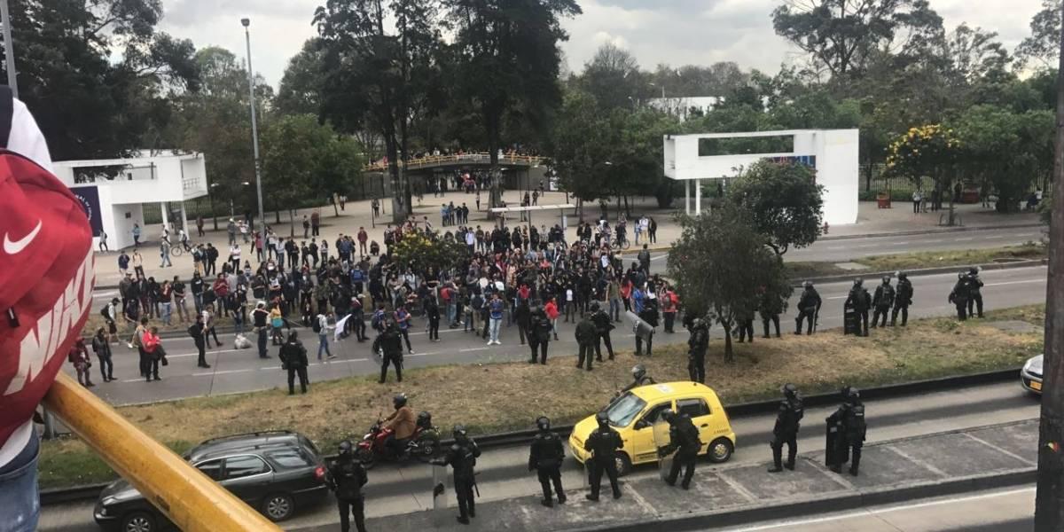 ¡Atento! Varias estaciones de Transmilenio cerradas en la troncal de la carrera 30 por protestas