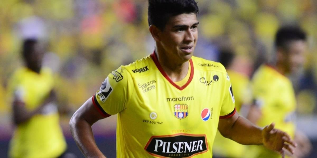 Xavier Arreaga no renueva con Barcelona SC