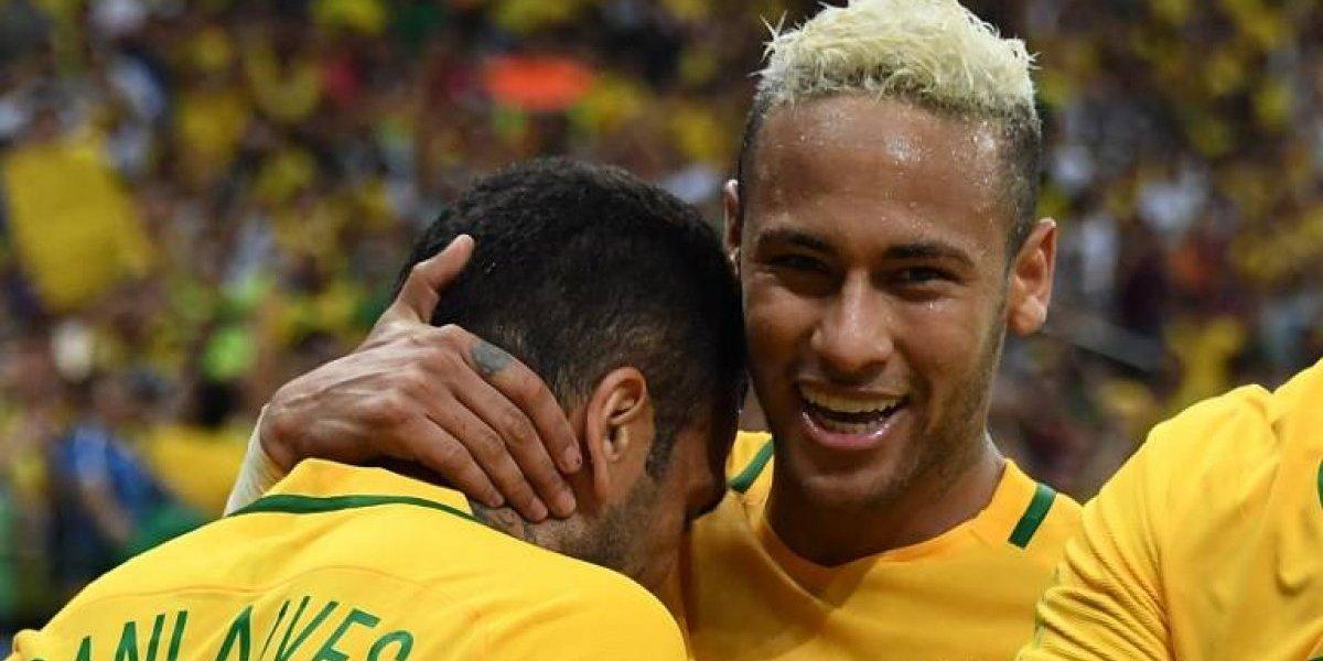 Neymar y Dani Alves comandan los 8 brasileños que podrían perderse partido con Chile