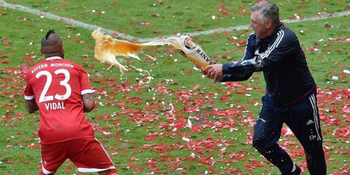 """Vidal pierde al """"mejor del mundo"""": el día en que el Rey dijo que Ancelotti era superior a Guardiola"""