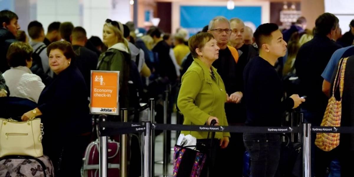 El caos se apodera de los aeropuertos del mundo tras fallo en sistema de check-in