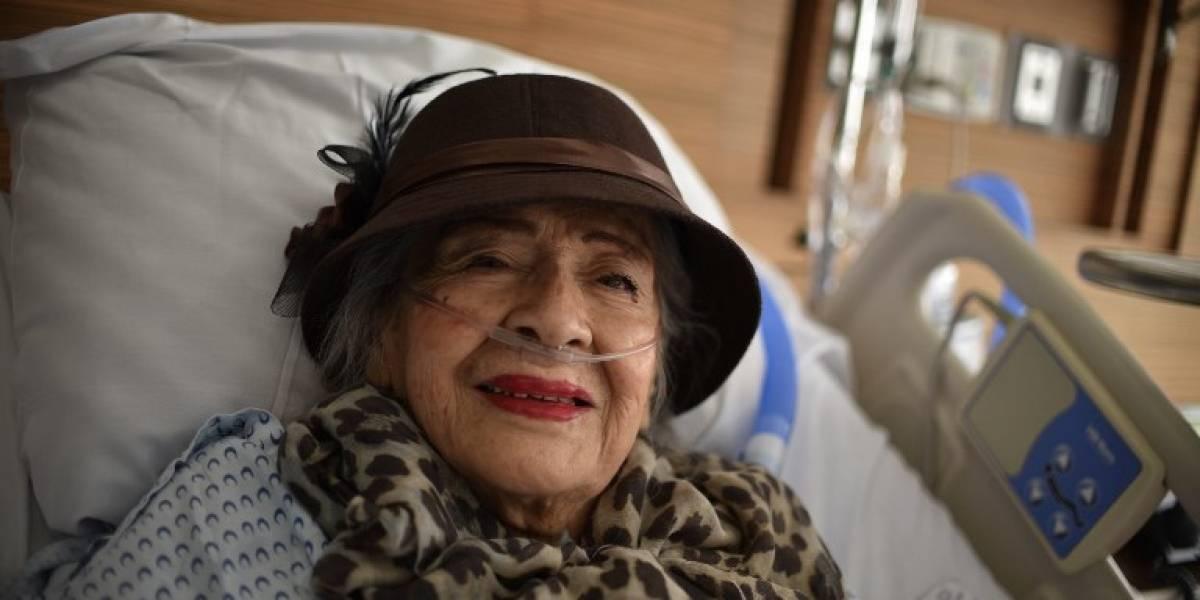 La historia de la actriz mexicana de 87 años que sobrevivió 32 horas bajo los escombros