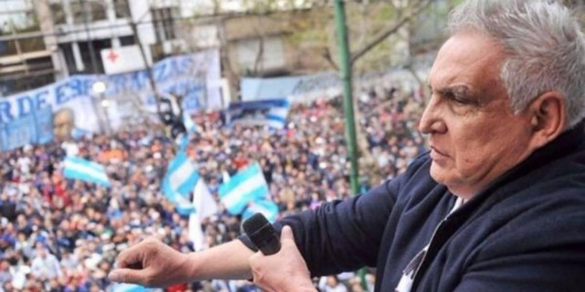 """Quién es el """"Pata Medina"""": el sindicalista argentino acusado de extorsión al Estado y lavado de dinero"""