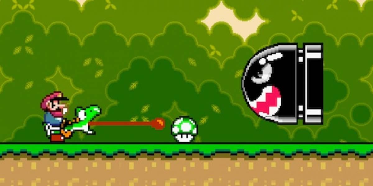 Nintendo: Mario sí golpea en la cabeza a Yoshi para que saque la lengua