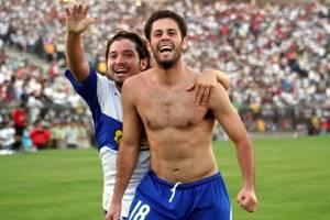 Eduardo Rubio marcó dos goles en el clásico del 23 de abril 2006 / Photosport