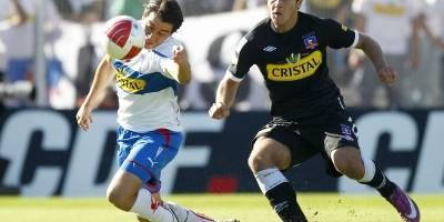 Diego Rubio marcó un gol en el clásico del 29 de mayo 2011 / Photosport