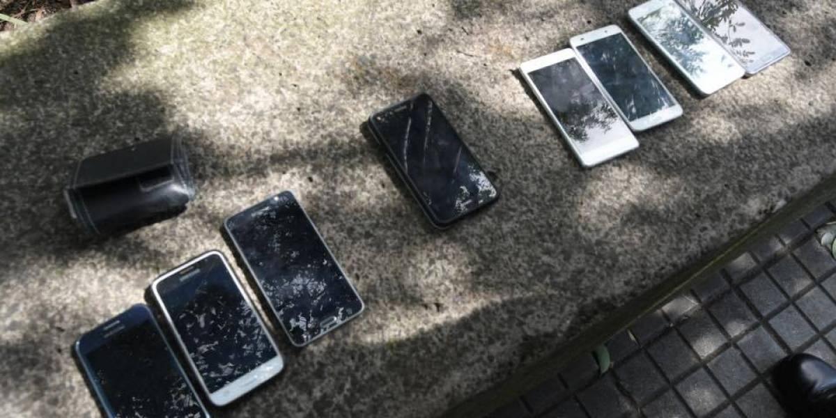 PNC devolverá celulares a víctimas de asalto en bus 101 en la Reforma
