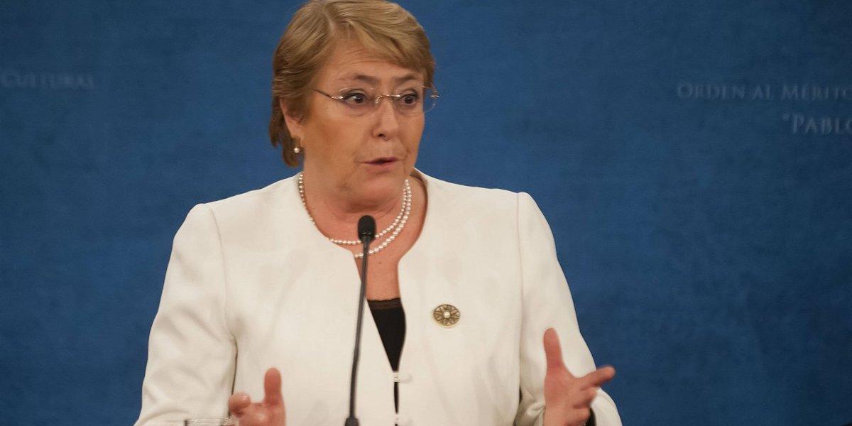 Bachelet anuncia que el presupuesto ingresa este sábado al Congreso y tendrá énfasis en educación y salud