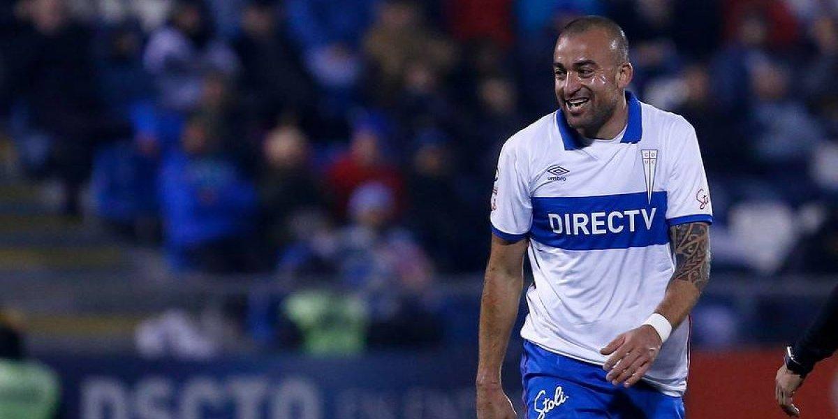El Tanque Silva gana bonos para ser titular en la UC para el clásico ante Colo Colo