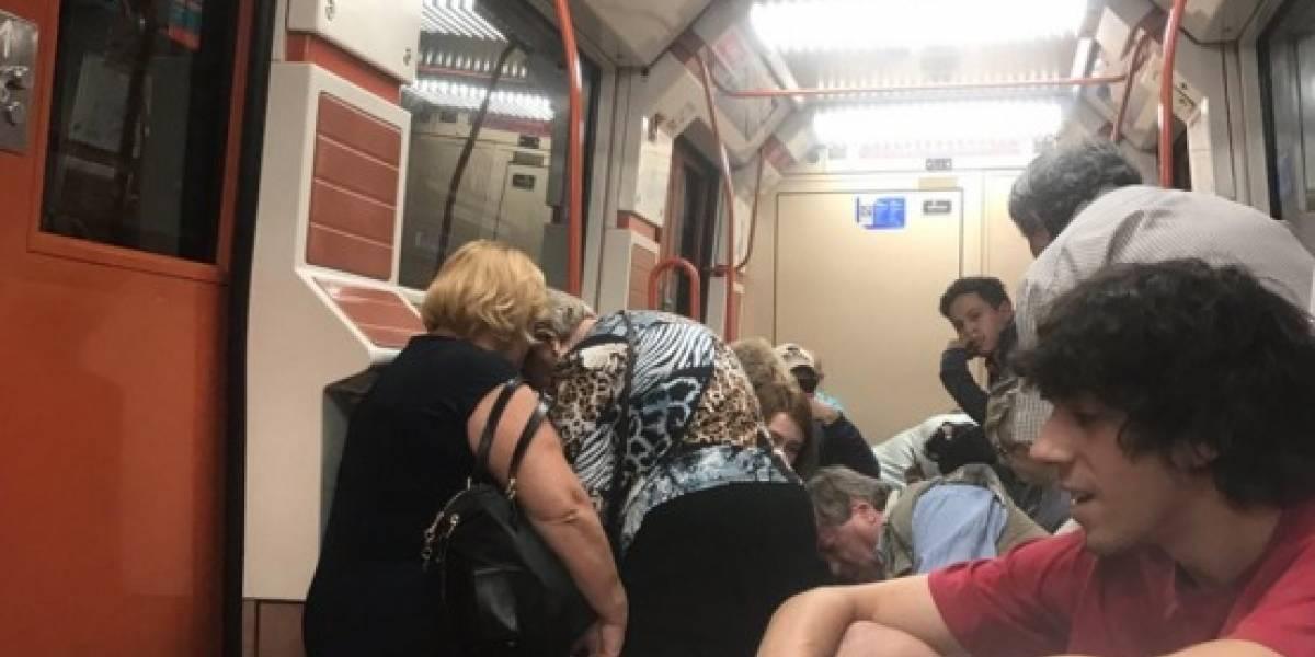 Pelea en el Metro de Madrid siembra el pánico y obliga la evacuación del tren subterráneo