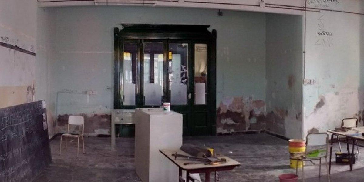 Estudiantes argentinos dieron tremendo ejemplo: repararon colegio tomado en protesta por reforma educativa