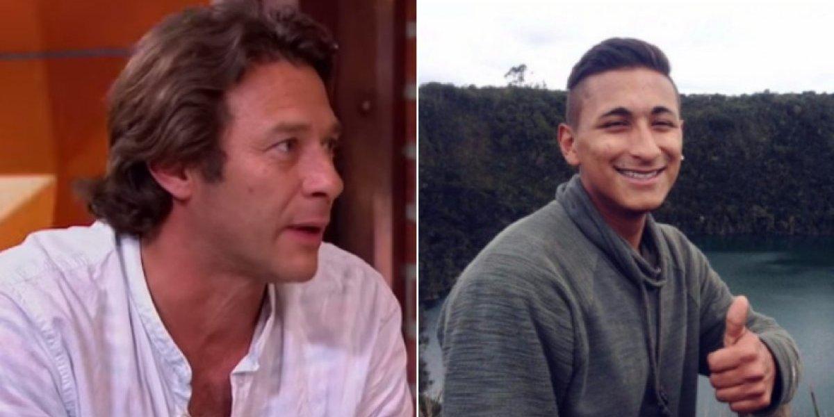 Actor Luis Fernando Bohórquez busca a un familiar desaparecido