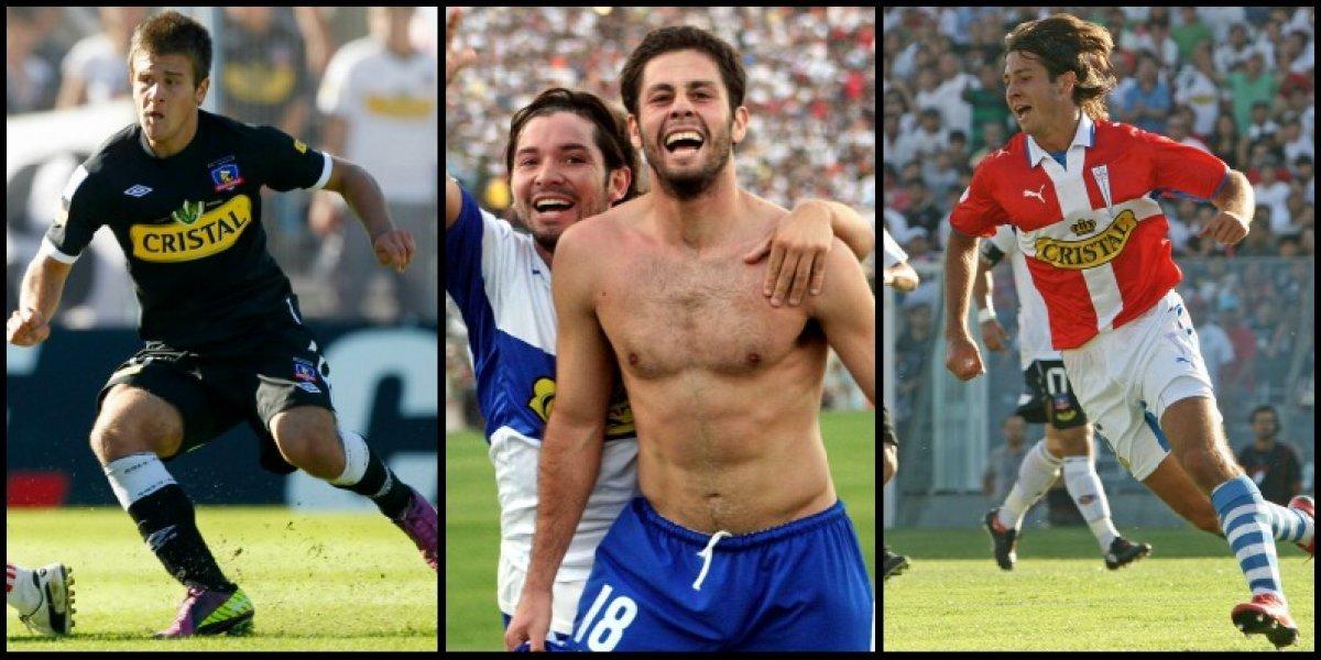 Tres goles, tres clásicos y tres recuerdos: los hermanos Rubio rememoran sus mejores UC-Colo Colo