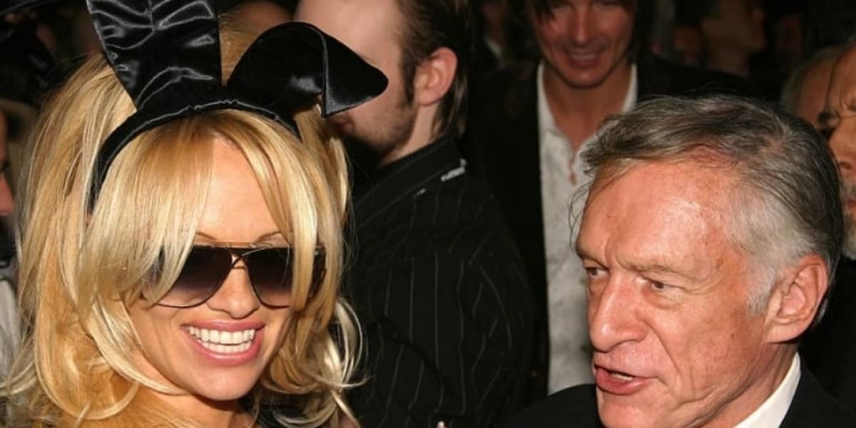 Carta de Pamela Anderson por muerte de Hugh Hefner se hace viral
