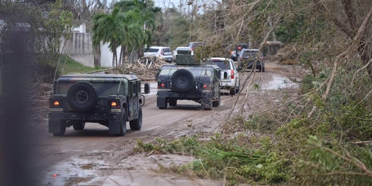 """Militar alega que líderes del bajo mundo """"entorpecen"""" entrega de comida"""