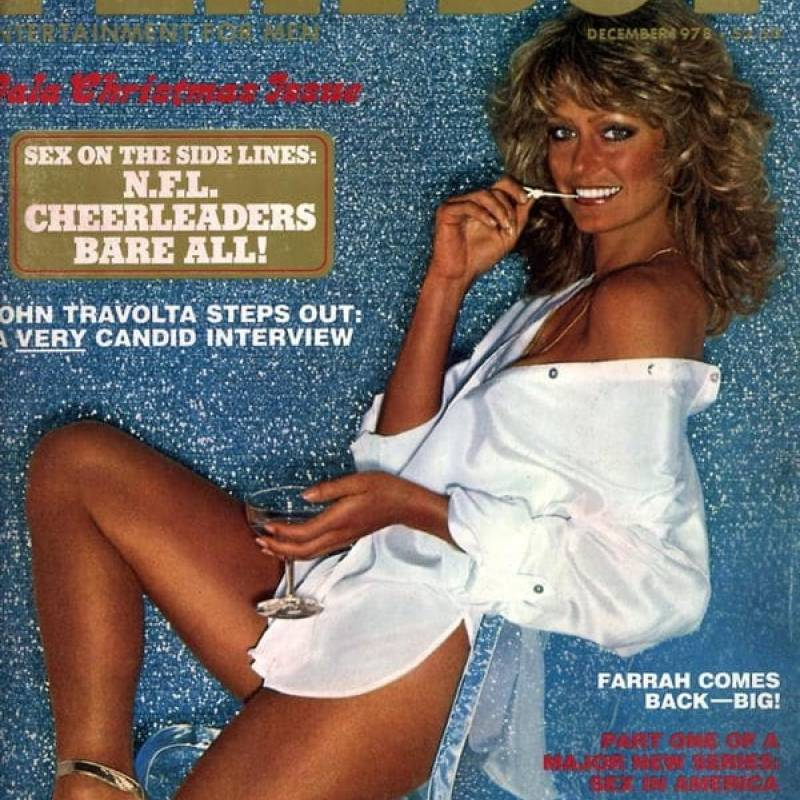 "Farrah Fawcett, la ""golden California girl"" de los años 70."