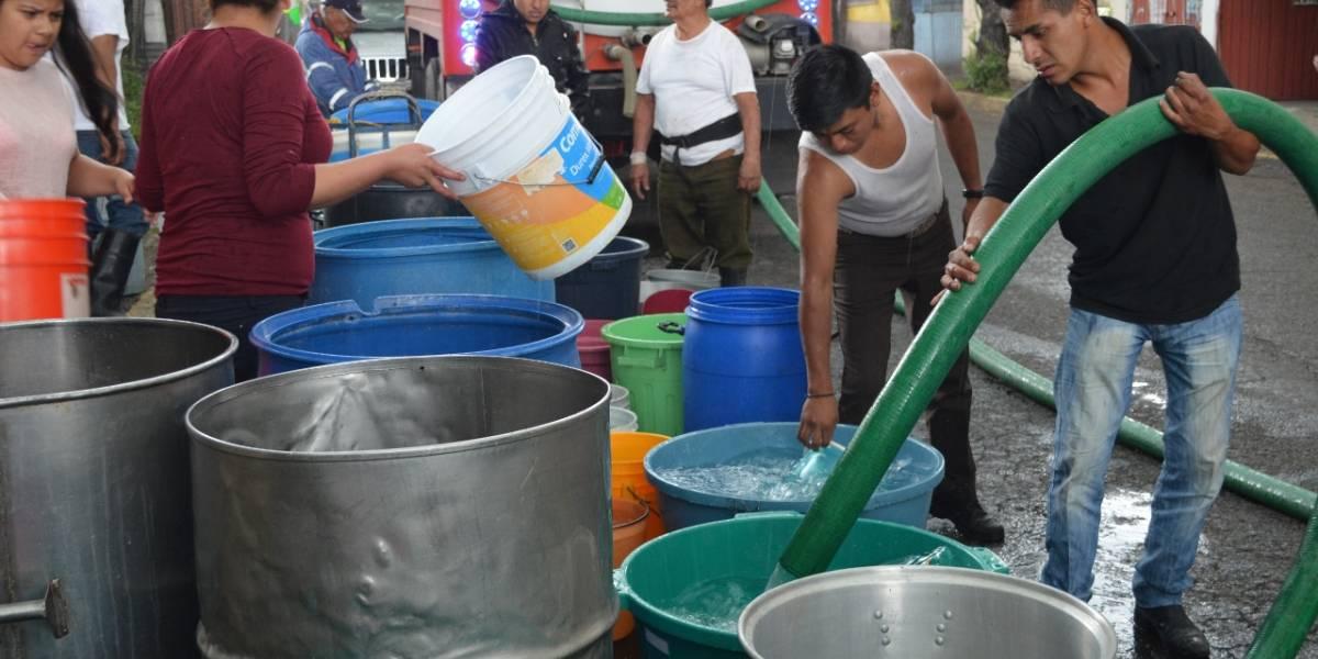 Habrá reducción de agua en la CDMX hasta fin de año; afectará a 500 mil personas