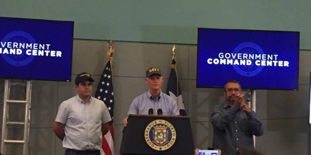 Gobernador de Florida ofrece ayuda a damnificados de P.R.
