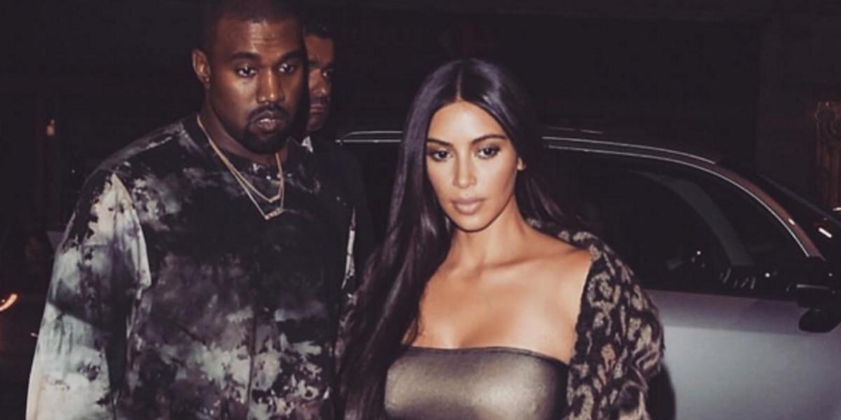 Notícia de divórcio entre Kim Kardashian e Kanye West é falsa!