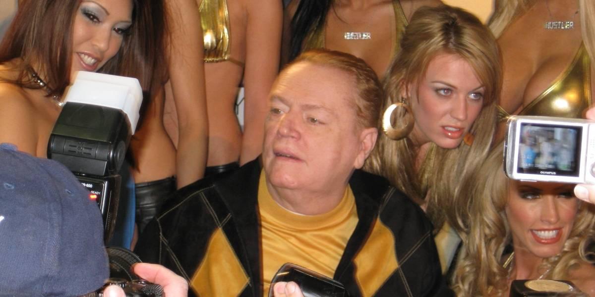 Larry Flint, el último rey del porno tras la muerte de Hugh Heffner
