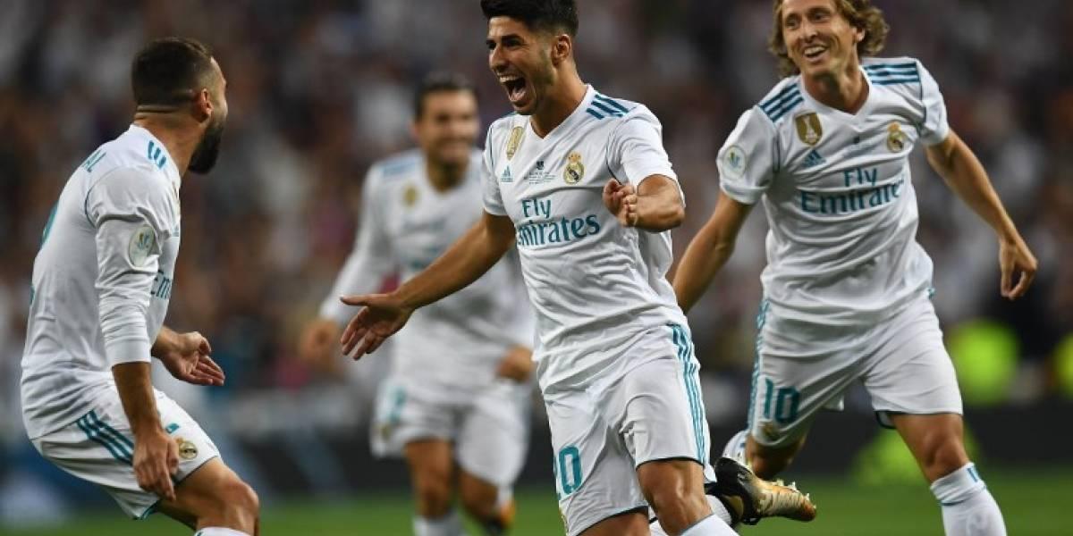 Real Madrid renovó con Marco Asensio hasta 2023