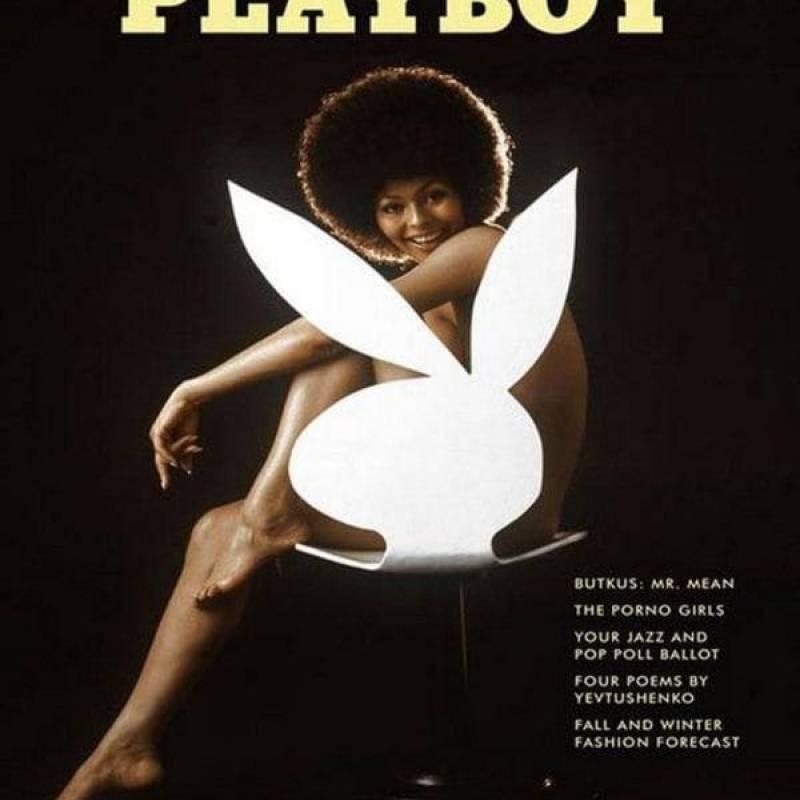 En algunas cosas, Playboy sí fue revolucionario: puso a Darine Stern, afroamericana, en portada, en los años 70.