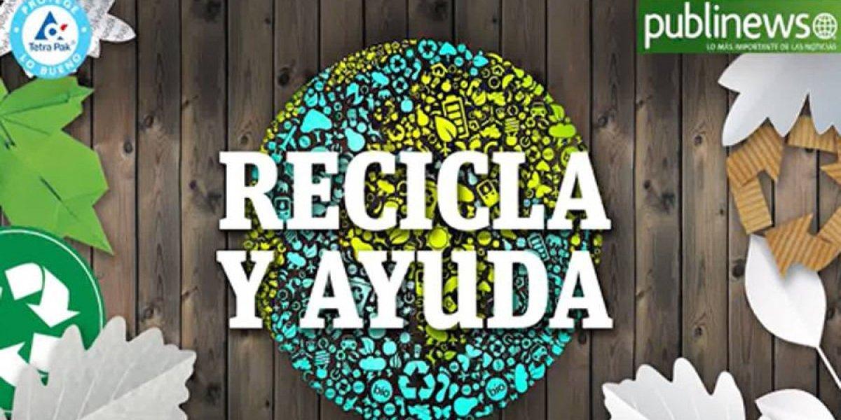 """Publinews lanza la segunda fase de """"Recicla y ayuda"""""""