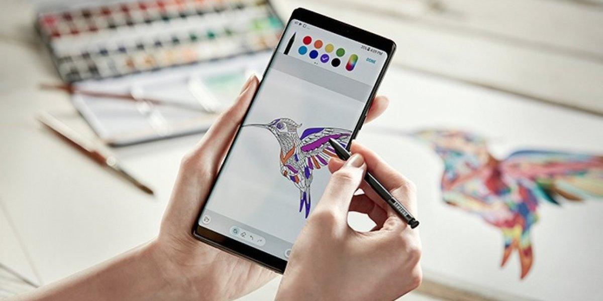 Te sorprenderá lo que puedes diseñar con el nuevo Samsung Galaxy Note8