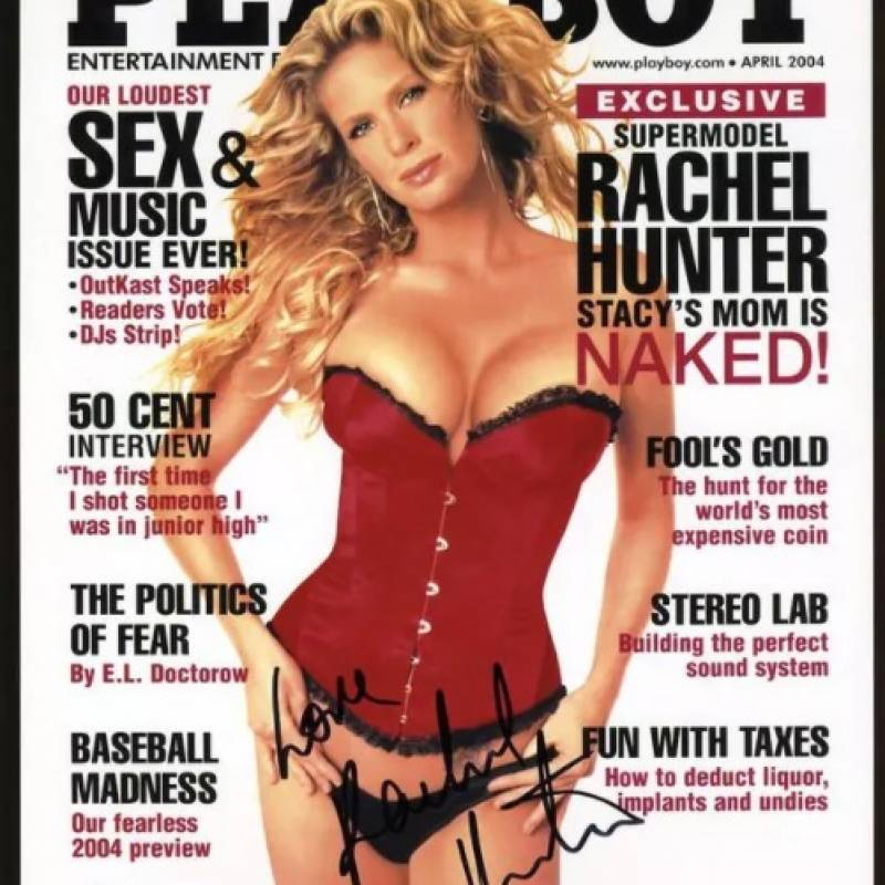 Internet Rachel Hunter