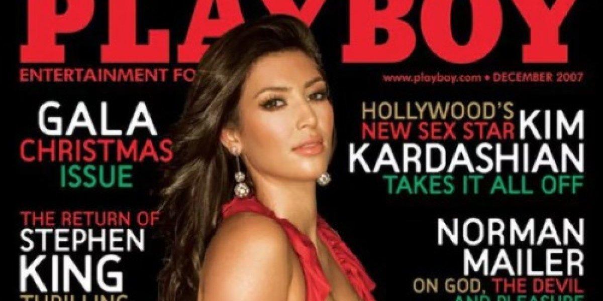 Kim Kardashian recuerda su trabajo en Playboy