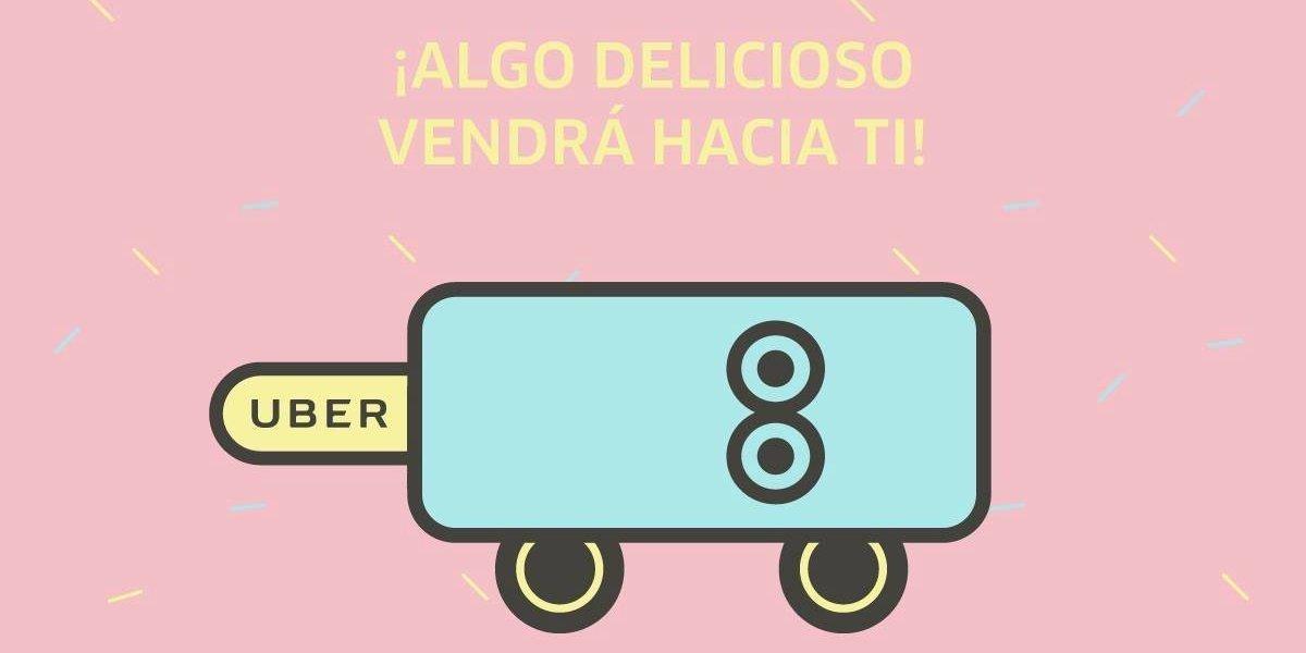 Endulza tu día con el Uber Ice Cream y puedes ganar helados por un año