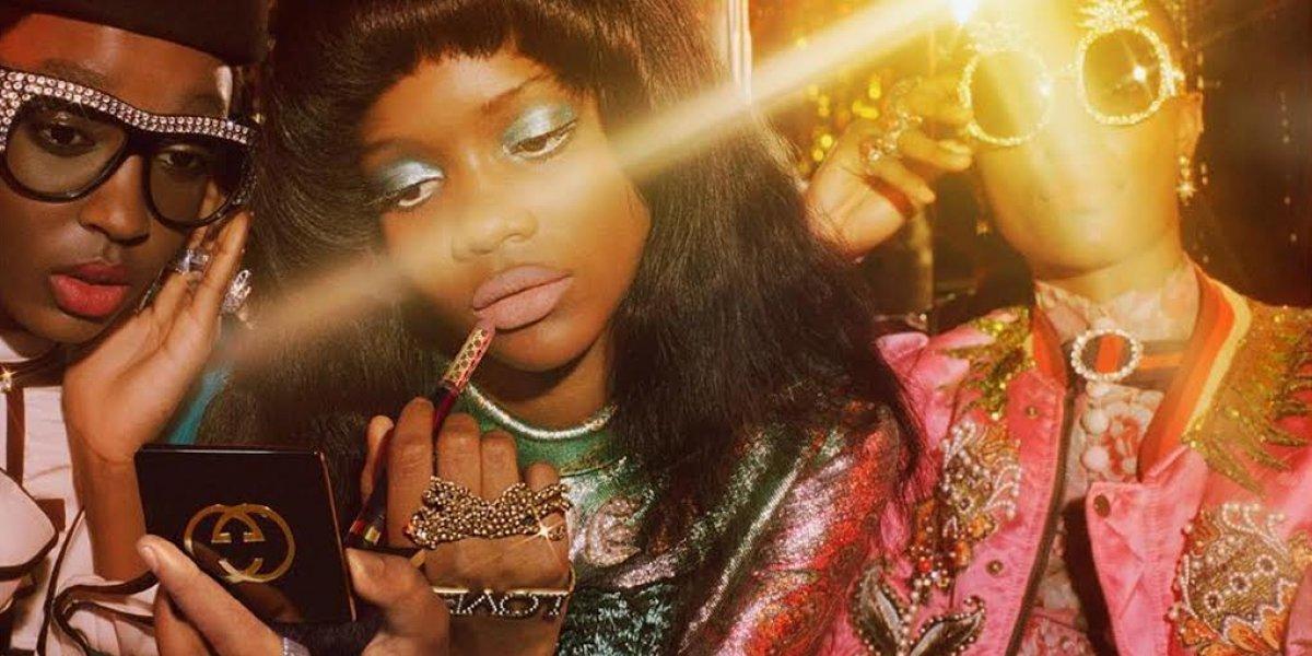 Modelo dominicana es la niña mimada de Gucci
