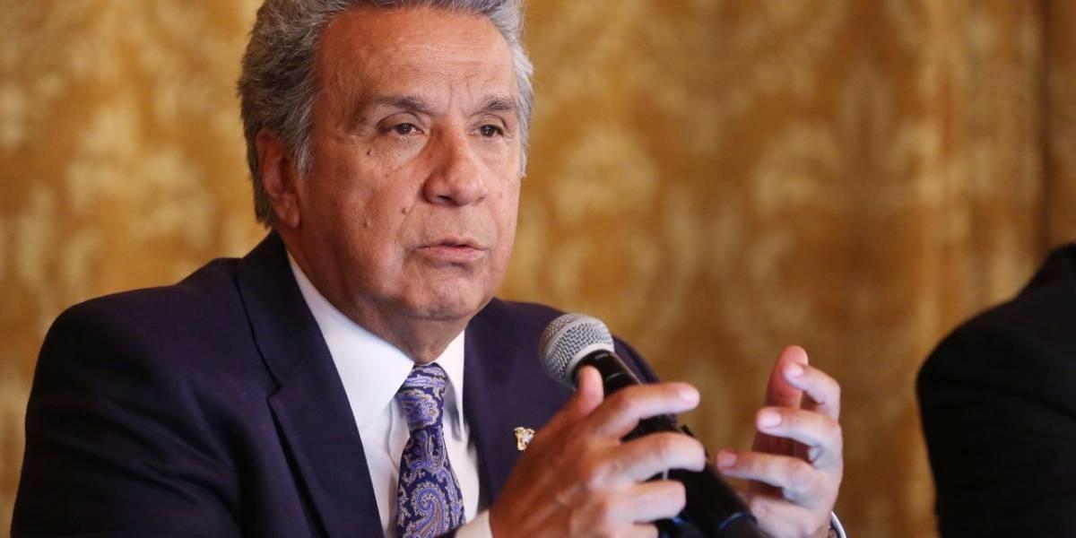 Lenín Moreno: Consulta popular será en enero o febrero