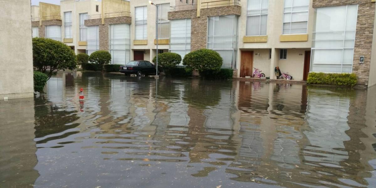 6 emergencias se atendieron por lluvia en Quito