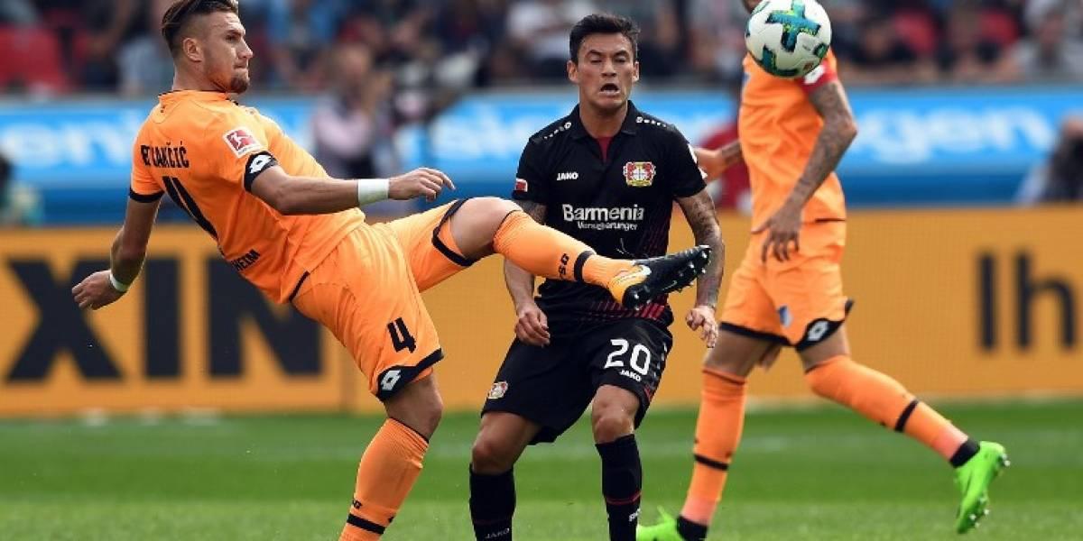 El Leverkusen de Aránguiz rescata una igualdad en su visita a Schalke 04